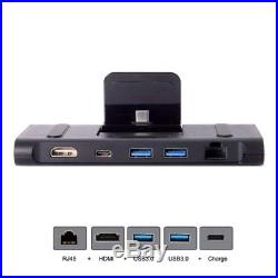 3XUSB 3.1 Type-C USB-C Dock Station to HDMI & Two 3.0 Hub & Ethernet & Pow K5M6