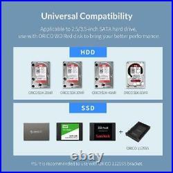 3.5'' SATA to USB3.0 HDD Docking Station 16TB Single ORICO 95 Series Multi Bay
