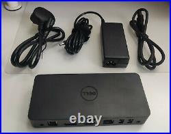 452-BBOT Dell USB 3.0 Ultra HD Triple Video Dock D3100. For EU. Dell 452-BBOO