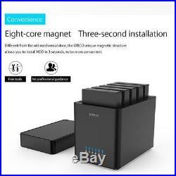 50TB ORICO 5 Bays USB 3.0 to SATA 3.5 Hard Drive Enclosure HDD Docking Station
