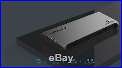 8K Dual DisplayPort Thunderbolt 3 (USB C Compatible) Docking Station