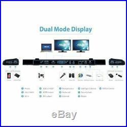 ASUS USB3.0 HZ-3B Laptop Notebook Docking Station USB 3.0 DVI HDMI Audio LAN