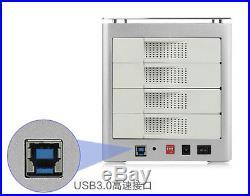 Acasis 4bay K302 External Docking Station RAID Tool 4 Bay 3.5 SATA USB3.0 HDD