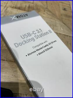 Angelbird Atom X SSD Mini 500mb With Atom X USB-C 3.1 Docking Station