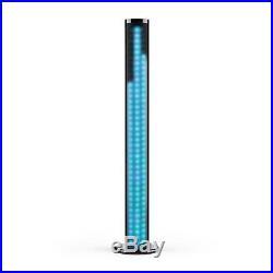 Auna Cassa Speaker Bluetooth Altoparlante Docking Station Usb Luci Led Color 40W