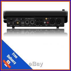Behringer iSTUDIO iS202 MIDI I/O USB Audio Interface iPad Docking Station
