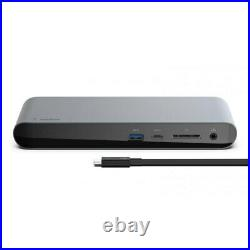 Belkin Thunderbolt 3 HD/USB-C/USB-A/Display Port 40 Gbps Dock for Mac/Windows BK