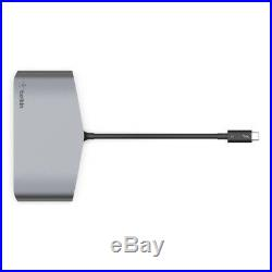 Belkin USB-C Thunderbolt 3 MACBOOK/WINDOWS/ Docking Station DUAL 4K HDMI 2X USB3