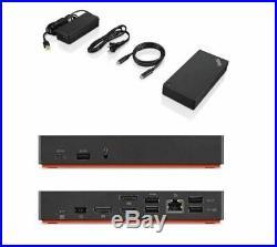 Brand New Lenovo ThinkPad 40AS009-0UK USB-C Gen 2 Docking Station