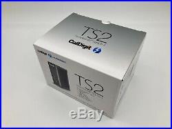 CalDigit TS2 Thunderbolt Station 2. 4K eSATA, USB3, HDMI, ethernet Dock for Mac
