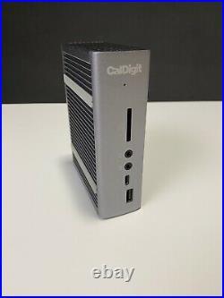 CalDigit TS3 Plus Thunderbolt 3 Dock 85W Charging, 7X USB 3.1 Ports, USB-C