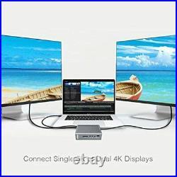 CalDigit TS3 Plus Thunderbolt 3 Dock 87W Charging, 7X USB 3.1 Ports USB-C G