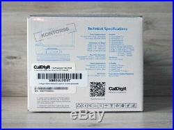 CalDigit TS3 Plus Thunderbolt Station 3 Plus USB-C Dock + Kabel 0,5m Space Grey