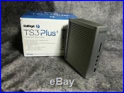 CalDigit TS3 Plus Thunderbolt Station 3 Plus USB-C Dock Space Grey