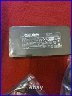 CalDigit USB-C, DisplayPort, Dock (UK) + 0.7m TBT3 Cable
