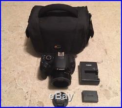 Canon Black DS126491 EOS Rebel T5 Digital SLR Camera Yongnuo 50mm f/1.8 Lens