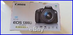 Canon EOS 1300D 18MP Camera Kit with EF-S 18-55mm Lens