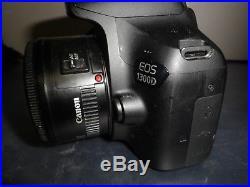 Canon EOS 1300D 18MP SLR Camera Kit with EF-S 18-55mm DC III Sensor CMOS Lens