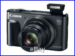 Canon Powershot SX720 HS Digital Compact Camera 40x 20MP Black