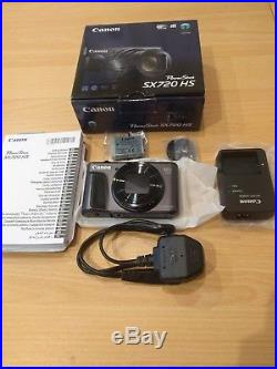 Canon Powershot SX720 HS Digital Compact Camera 40x 20MP Black Brand New