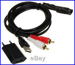 Cinch HiFi System Soundbar wird BLUETOOTH Interface MP3 USB Stecker 230V #5054
