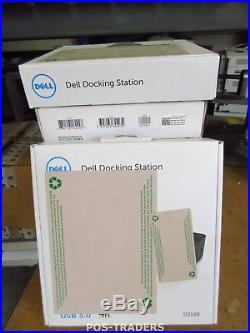 DELL 02YW4F Latitude 13 7350 Ultra HD D3100 Docking Station USB 3.0 HDMI NEW NEU