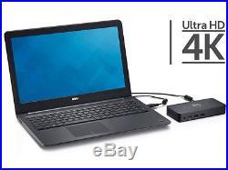 DELL Latitude 13 7350 Ultra HD D3100 Docking Station USB 3.0 HDMI 0RH1C8 02YW4F
