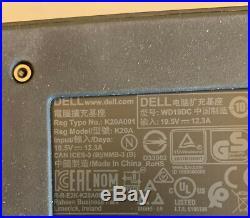 DELL WD19DC DUAL USB-C 240W DOCK DOCKING STATION 210-ARJE NPCMW Warranty 11/22