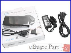 DELL XPS 15 9530 L521x Ultra HD D3100 Docking Station USB 3.0 HDMI 452-BBOT