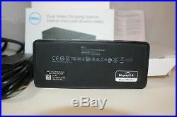 Dell D1000 USB 3.0 Full HD Dual Video Docking Station Universal Dock 452-BBZI