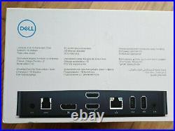 Dell D3100 USB 3.0 Display Link Triple Video 4k Docking Station Brand New