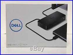 Dell D3100 USB 3.0 UHD 4K Triple Video Port Replicator Docking Station