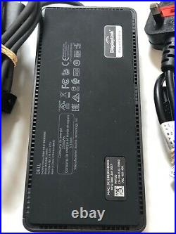 Dell D6000 USB-C Docking Station with Power Supply