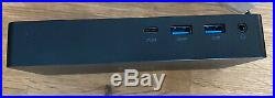 Dell D6000 Universal Dock Station USB-C With 130W Power Supply Adapter ShipsFast