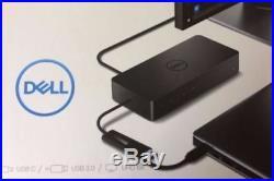 Dell D6000 Universal Docking Station 3x4K MONITORS USB3 NOB