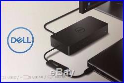 Dell D6000 Universal USB 3.0 Ultra HD 5K Triple Video Monitors Docking Station17