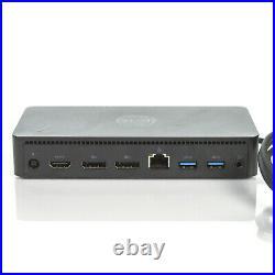 Dell D6000 Universal USB-C 4K Dual DP Docking Station 452-BCYT M4TJG PN3KT M4R9V