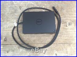 Dell Docking Station Port Replicator WD15 USB Type C K17A001 + 130W PSU