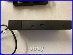 Dell K20A001 WD19 USB-C Docking Station Black 6 Months Old, Little Used