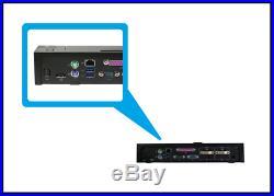 Dell PRO2X E-Port Plus II Advanced Port Replicator with USB 3.0 Docking Station