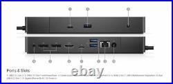 Dell Performance USB-C Docking Station Dock WD19DC, 240W, UK 210-ARJE VGX3N