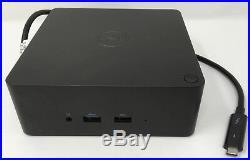 Dell Thunderbolt Docking Station TB16 240W Adapter USB C HDMI FPY0R Good
