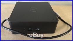 Dell Thunderbolt Docking Station TB16 240W Adapter USB C USB 3.0 HDMI FPY0R NEW