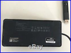 Dell Universal Docking Station D6000 USB-C USB 3.0 Anschlüsse, inkl. Netzteil