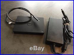 Dell WD15 Dock Docking Station mit 180W Netzteil USB-C Thunderbolt 4K
