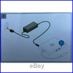 Dell WD15 USB-C Business Docking Station K17A K17A001 withBrand New240W Adapter