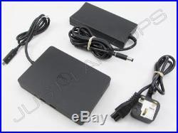 Dell WD15 USB Type-C HDMI Docking Station Port Replicator Inc 130W PSU K17A