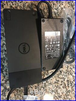Dell WD19DC 240W Thunderbolt 3, USB-C, DisplayPort Docking Station