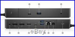 Dell WD19TB 180W 1xThunderbolt 2x DVI 1xHDMI 3 USB-C DisplayPort Docking Station