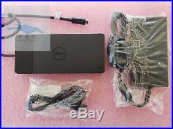 Dell WD19TB 180W Thunderbolt 3, USB-C, DisplayPort Docking Station